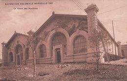 Cp , 13 , MARSEILLE , Exposition Coloniale 1922 , Le Palais Des Machines - Expositions Coloniales 1906 - 1922