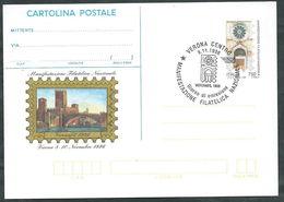 """REPUBBLICA - 1996 Cartolina Postale £. 750 Verona """"96 Annullo FDC - Postwaardestukken"""