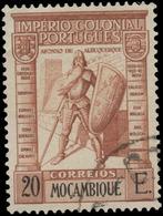 Mozambique Scott #287, 20e Red Brown (1938) Common Design Type, Used - Mozambique