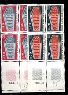 Andorre Europa 1969 En Blocs De 4 Neufs ** MNH. TB. A Saisir! - French Andorra