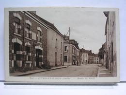 72 - AUVERS LE HAMON - ROUTE DE SABLE - France