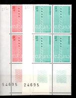 Andorre Europa 1971 En Blocs De 4 Neufs ** MNH. TB. A Saisir! - French Andorra