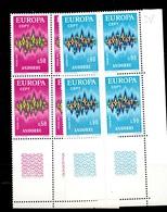 Andorre Europa 1972 En Blocs De 4 Neufs ** MNH. TB. A Saisir! - French Andorra