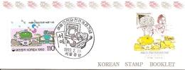 KOREA SOUTH, 1992, Booklet Philatelic Center 116, Seouls Arts Centers Opening - Corea Del Sud