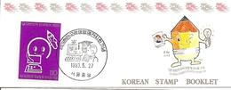 KOREA SOUTH, 1993, Booklet Philatelic Center 118, Students Invention Exhibition - Corea Del Sud