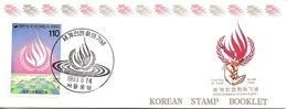 KOREA SOUTH, 1993, Booklet Philatelic Center 119, Human Rights Conference - Corea Del Sud