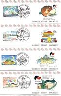 KOREA SOUTH, 1993, Booklet Philatelic Center 124/27, Taejon Expo 93 - Corea Del Sud
