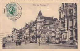 Carte Postale Ancienne,BELGIQUE En 1934,flandre Occidentale,MIDDELKERKE,prés Ostende,hotel Les Floralies,rare - Middelkerke