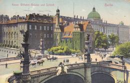 ALLEMAGNE,DEUTSCHLAND,germany,BERLIN EN 1906,KAISER WILHELM-BRUCKE UND SCHLOB,rare - Unclassified