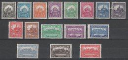 Hungary 1926. Pengo - Filler Nice Set MNH (**) Michel: 411-426 (411-420 Perf.: 15. 421-426 Perf.: 14 1/2: 14) - Nuovi