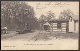 CHATEAUNEUF EN THYMERAIS - La Gare - Châteauneuf