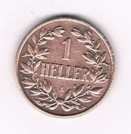 1 HELLER 1913 A DEUTSCH OSTAFRIKA /3091G/ - Africa De Alemania Del Este