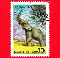 Nuovo - MH - TANZANIA - 1991 - Animali - Elefanti - African Elephant (Loxodonta Africana) - 30 - Tanzania (1964-...)