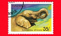 Nuovo - MH - TANZANIA - 1991 - Animali - Elefanti - African Elephant (Loxodonta Africana) - 35 - Tanzania (1964-...)