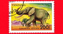 Nuovo - MH - TANZANIA - 1991 - Animali - Elefanti - African Elephant (Loxodonta Africana) - 200 - Tanzania (1964-...)