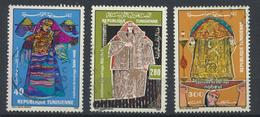 °°° TUNISIA - Y&T N°1057/59 - 1986 °°° - Tunisia (1956-...)