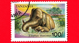 Nuovo - MH - TANZANIA - 1991 - Animali - Elefanti - Asian Elephant (Elephas Maximus) - 100 - Tanzania (1964-...)