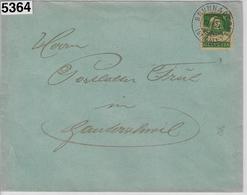 1924 Tell 153/164x Brunnadern 27.IX.24 To Ganterschwil - Suisse