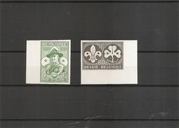 Scoutisme ( 1022/1023 Non Dentelés De Belgique - Cote:300 Euros) - Neufs