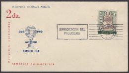 1962-CE-19 CUBA 1962 SPECIAL CANCEL. EXPO FILATELICA SALUD PUBLICA MEDICINE. PALUDISMO MALARIA. - Cuba
