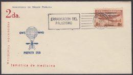 1962-CE-20 CUBA 1962 SPECIAL CANCEL. EXPO FILATELICA SALUD PUBLICA MEDICINE. PALUDISMO MALARIA. - Cuba