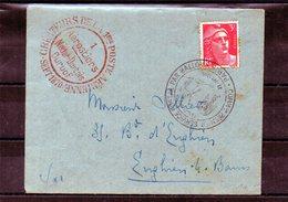 Aérostiers Nadar-Dartois-Durouf Créateurs De La 1ere Poste Aérienne 21/09/1946 - Poste Aérienne