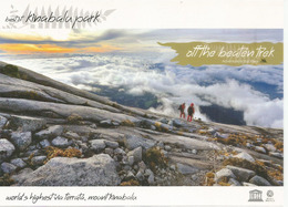 "Mount Kinabalu, 4095 M. Sabah. ""Off The Beaten Trek"", Carte Postale Neuve, Non Circulée - Mountaineering, Alpinism"