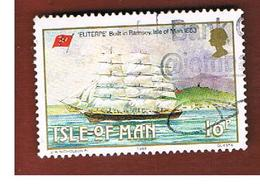 ISOLA DI MAN (ISLE OF MAN)  - SG 385 -  1988 SHIP ENTERPE  -   USED - Isle Of Man