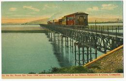 Rio Bio Bio Puente San Pedro Edit Mattensohn / Grimm Concepcion Train Tren - Chili