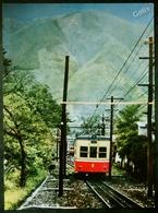 """GORA SPA """"TERMINAL OF MOUNTAIN RAILWAY"""" - TRAIN DE MONTAGNE- JAPON - Eisenbahnen"""