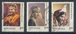 °°° INDIA - Y&T N°650/52/53 - 1980 °°° - India