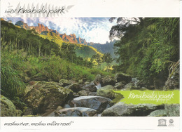 Mount Kinabalu, 4095 M. Sabah. Mesilau River,Mesilau Nature Resort, Carte Postale Neuve, Non Circulée - Alpinisme