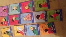 Collection Quasi Complete En 11 Tomes(qui En Compte 12) Herge Quick & Flupke Extraits Mini Livre 7x9 Cm Tbe - Quick Et Flupke
