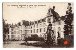 22141-LE-78-Ecole Secondaire Diocésaine Du Sacré Coeur De Conflans-Cour D'honneur Et Façade Sud - Conflans Saint Honorine
