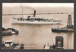 - Rare - N° 80 -Enkhuizen , Krabbersgat Met Veerboot ( Bateau De Croisière , Paquebot ) - Enkhuizen