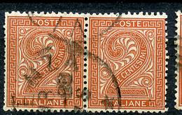 1863 - REGNO - Catg. Unif. 15 - USED - (ITA3152A.22) - 1861-78 Vittorio Emanuele II