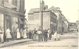 Blangy Sur Bresle - Passage à Niveau De La Grande Rue - Blangy-sur-Bresle