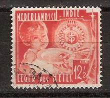 Nederlands Indie Netherlands Indies Dutch Indies 224 Used ; Leger Des Heils, Salvation Army 1936 - Indes Néerlandaises