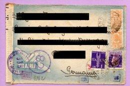 Storia Postale - Busta Spedita Via Aerea Dalla Germania Per L'Italia 1944 (SP1) - 1900-44 Victor Emmanuel III