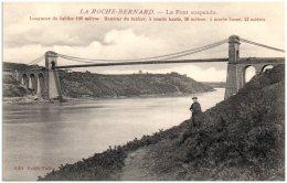 56 LA ROCHE-BERNARD - Le Pont Suspendu - La Roche-Bernard