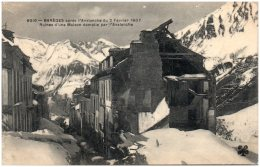 65 BAREGES Après L'avalanche Du 2 Février 1907 - Ruines D'une Maison Démolie Par L'avalanche - Frankrijk