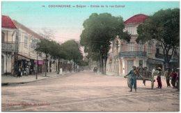 COCHINCHINE - SAIGON - Entrée De La Rue Catinat - Vietnam