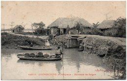 COCHINCHINE - ARROYAUX - Environs De Saigon - Vietnam