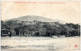 Pénitencier Des ILES De POULO-CONDORE - Arrivée - Vue De La Ville (maison Des Passagers) - Vietnam