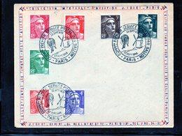 Commemoration Du Service Postal Par Ballon 23/09/1946 - Marcophilie (Lettres)