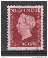 Nederlands Indie Netherlands Indies Dutch Indies 342 Used ; Koningin, Queen, Reine ,reina Wilhelmina 1948 - Indes Néerlandaises