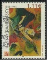 3585 - 2003 - Vassily Kandinski (1866-1944) Cachet Rond - France