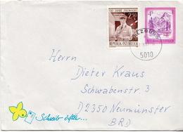 Postal History Cover: Austria Cover - 1981-90 Storia Postale