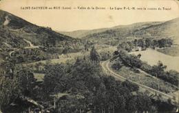 CPA.- France > [42] Loire > Autres Communes - St-SAUVEUR-en-RUE - Vallée De La Deûme La Ligne P-L-M. - Daté 1924 - TBE - Other Municipalities