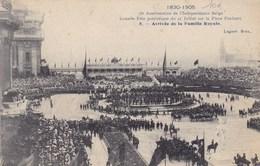 Bruxelles, Brussel, 75e Anniversare De L'indépendance Belge, Arrivée De La Famille Royale (pk46726) - Fêtes, événements